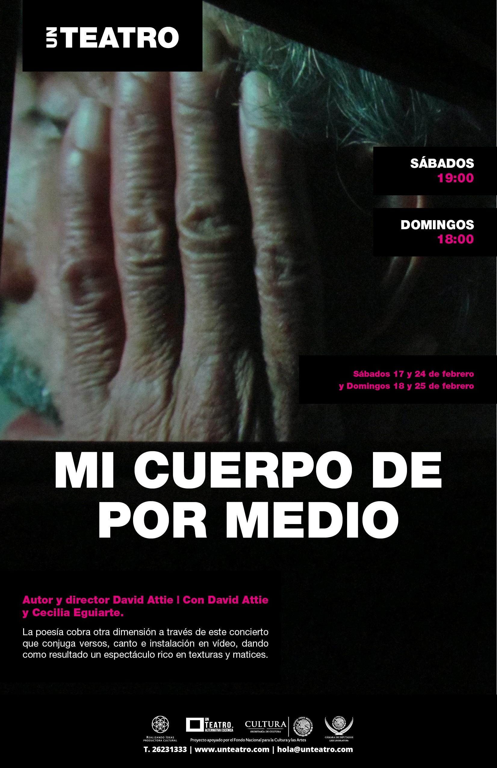 MI CUERPO DE POR MEDIO