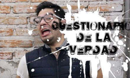 Diego Medel contesta el CUESTIONARIO DE LA VERDAD