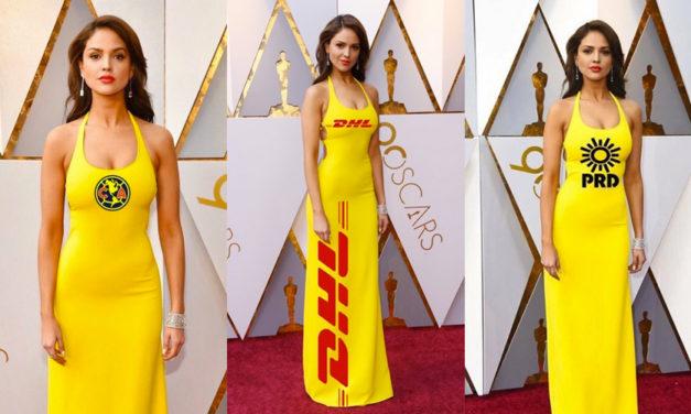 15 memes que inspiró el vestido de Eiza González
