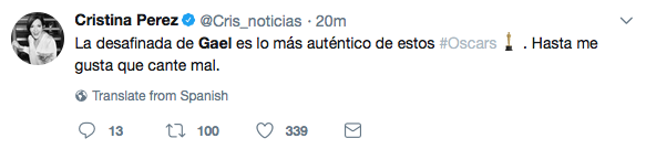Gael García en redes