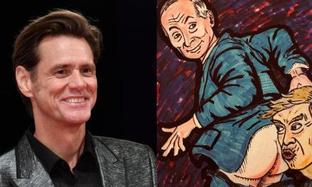 15 pinturas de Jim Carrey que dicen lo que todos pensamos
