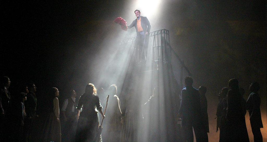 Escena de Los Miserables México, 2018.