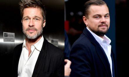 Lo que estabas esperando, ¡Brad Pitt y Leo DiCaprio juntos!