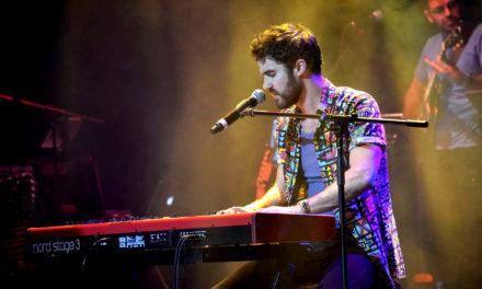 3 canciones del concierto de Darren Criss en México
