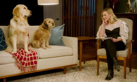 Kristen Bell hace la entrevista más peluda de su vida