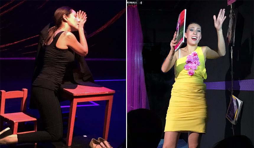 2 Mujeres, 2 Monólogos sobre el amor, 1 mismo Teatro
