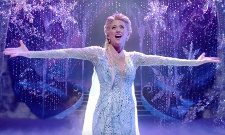 Si está mágico el número de Let It Go de Frozen