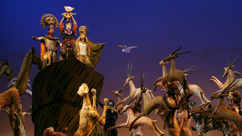 The Lion King en Broadway