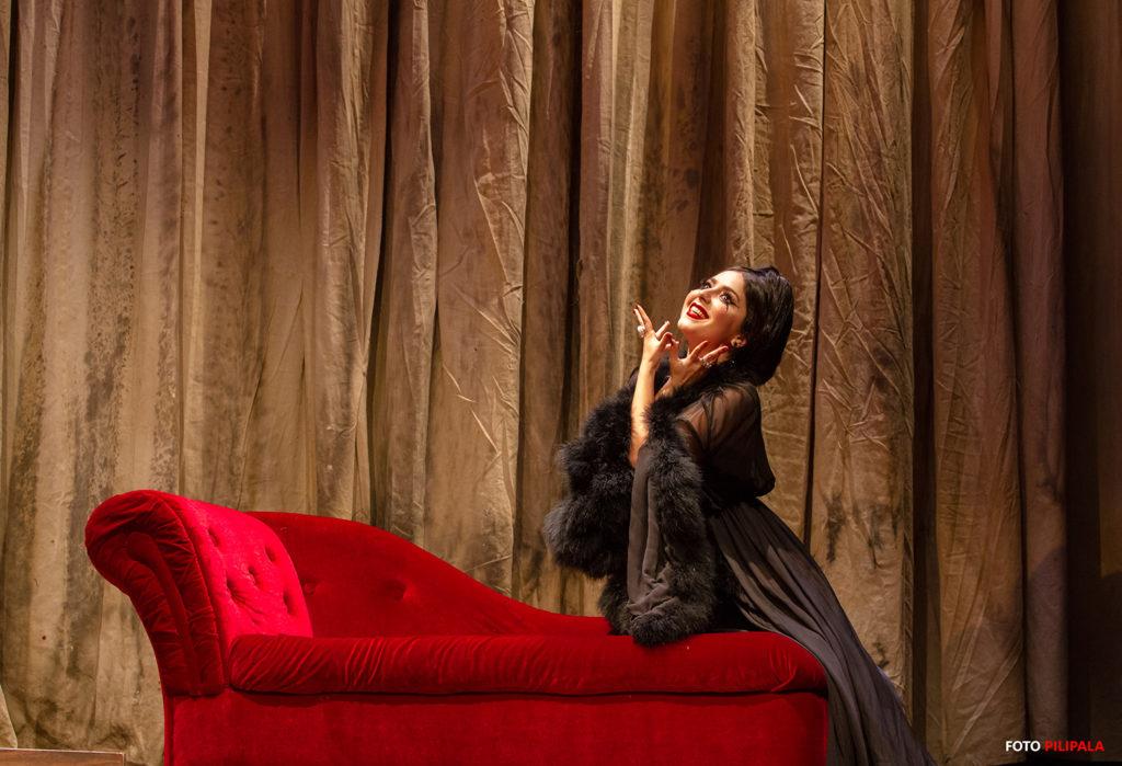 Diana Bovio como Olivia. Foto: Pili Pala.