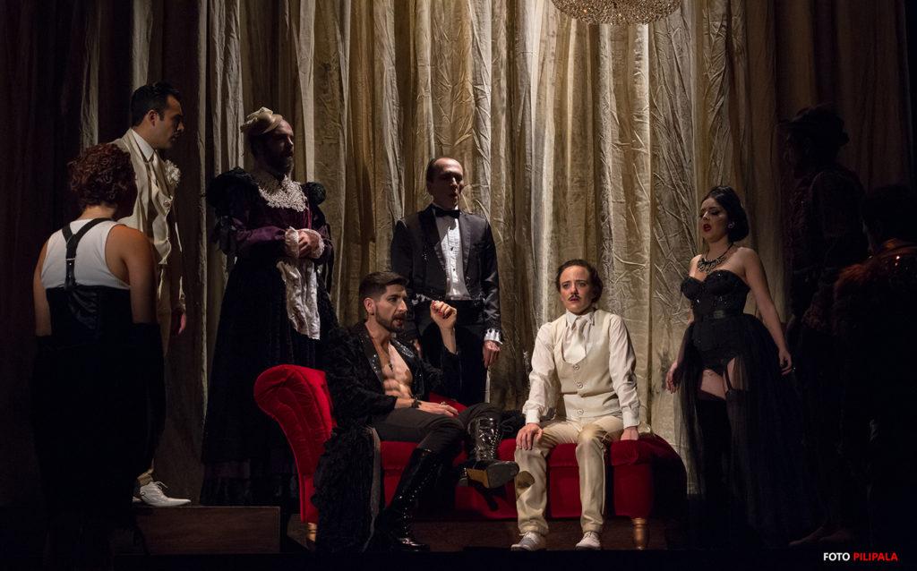 El elenco de Noche de Reyes. Foto: Pili Pala.