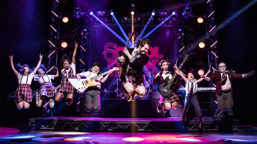 School of Rock en Broadway