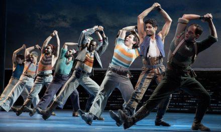 Sólo un poquito de las coreografías de Carousel