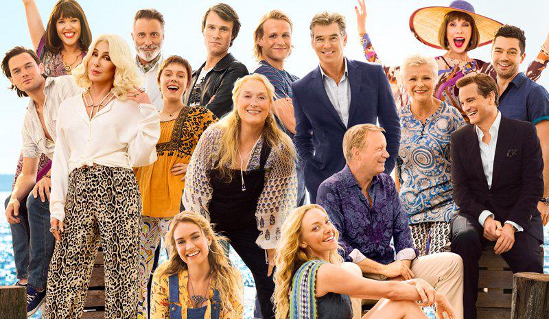 El trailer final de Mamma Mia! 2 nos tiene en dancing queens