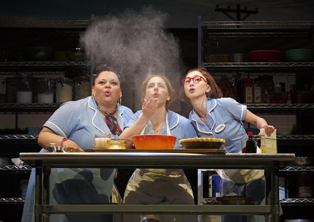 Waitress en Broadway