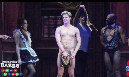 Broadway se desnudó por una buena causa