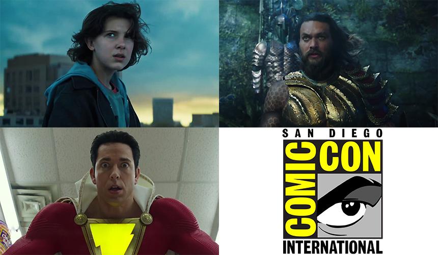 Los trailers de Comic-Con: Shazam, Godzilla y Aquaman