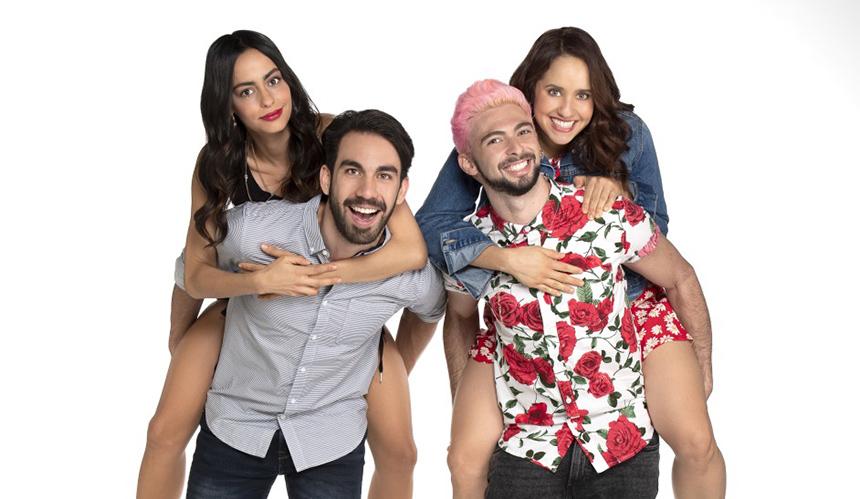 Un Ricaño y una Adriana Montes de Oca para la televisión