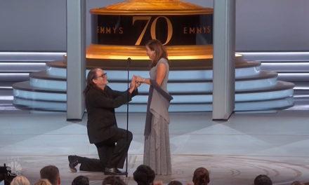 El mejor momento del Emmy: Una propuesta de matrimonio