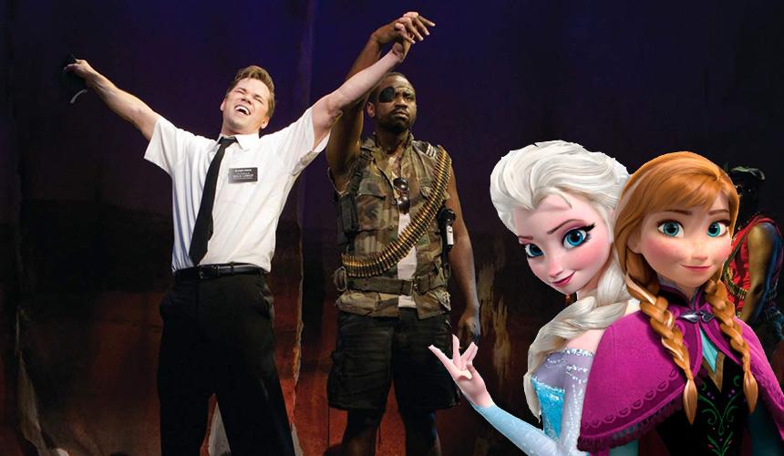 He aquí lo que tienen en común Frozen y Book of Mormon