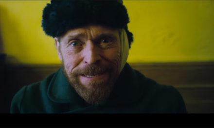 Tienes que ver a Willem Dafoe transformarse en Van Gogh