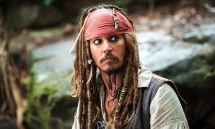 Díganle adiós a Johnny Depp como Jack Sparrow