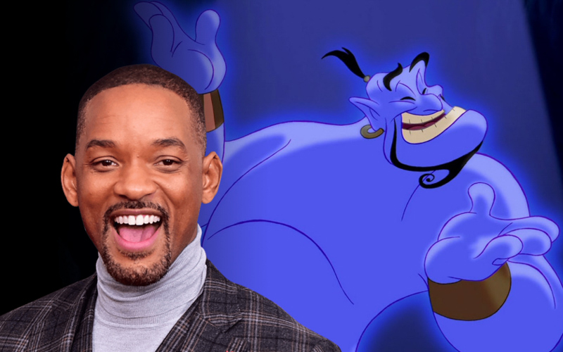 Will Smith presume el primer póster de Aladdin