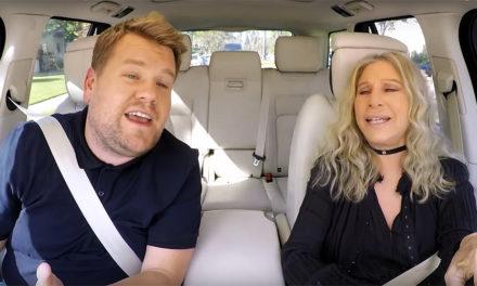 Obvio tienes que ver el Carpool Karaoke de Barbra Streisand