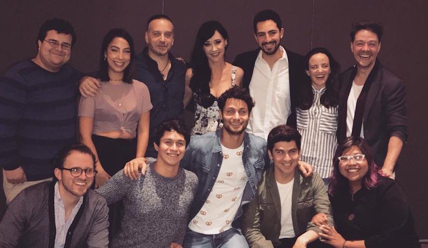 El elenco del musical Casi Normales