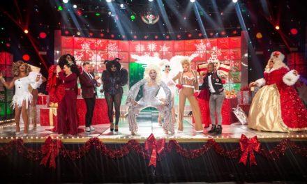Un primer look al especial navideño de Drag Race