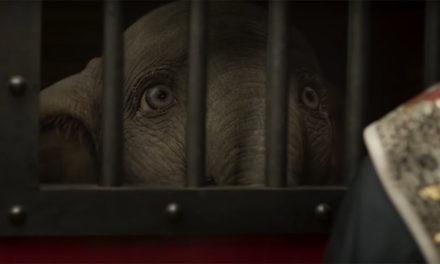 Dumbo nos da una primera mirada a eeesa escena de la mamá