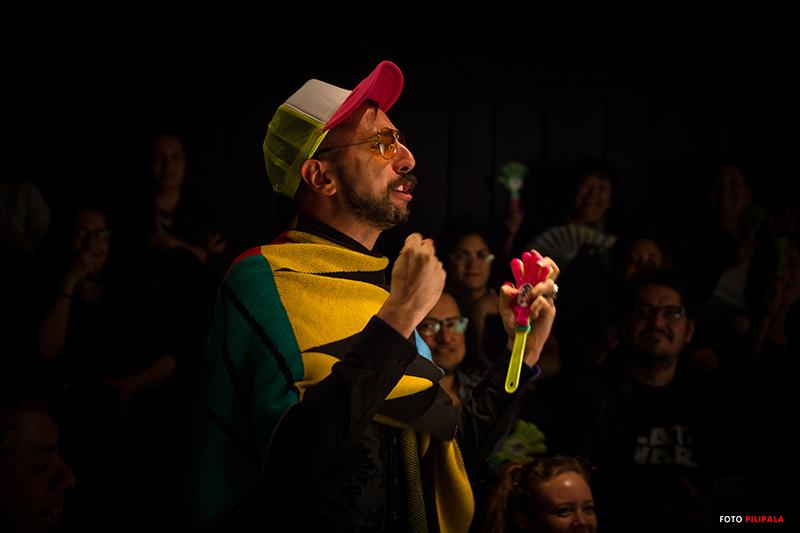 Producto Farmacéutico Para Imbéciles, Teatro El Granero, 2018.