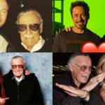 Así se despidieron los actores de Marvel de Stan Lee