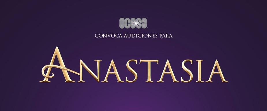 Habrá audiciones para Anastasia el musical