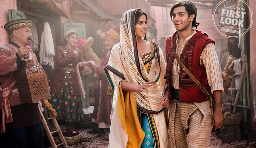 Primeras imágenes del remake live action de Aladdin