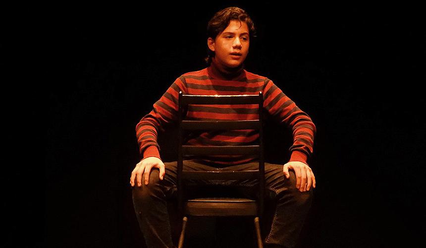 Niño actor y dramaturgo sorprende en los Antinavideños