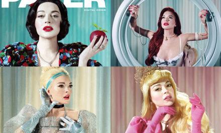 Lindsay Lohan se transforma en las Princesas Disney