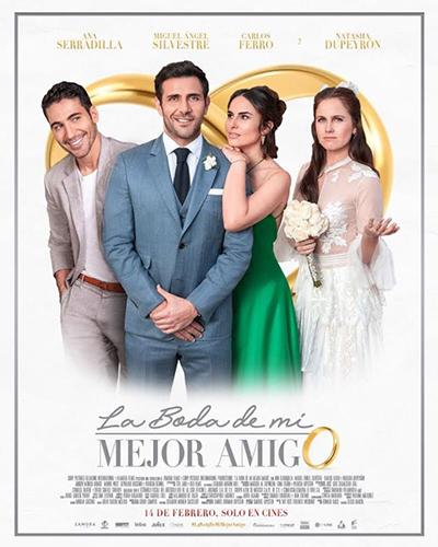 Poster de La Boda de Mi Mejor Amigo mexicana