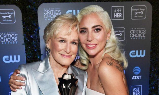 Glenn Close y Gaga empatan como Mejor Actriz