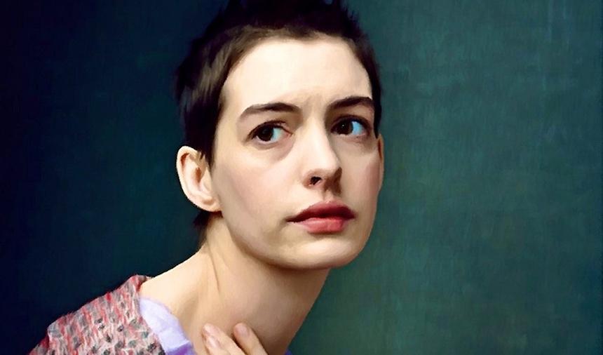¿Por qué Les Miserables enfermó a Anne Hathaway?