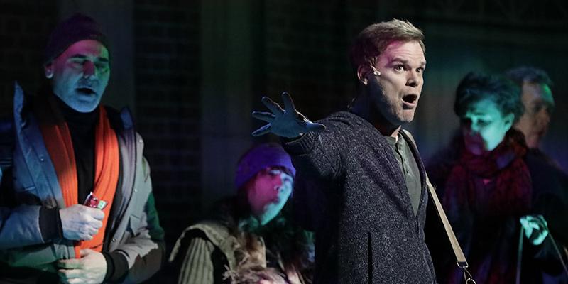 Michael C. Hall actuó en un comercial musical de Skittles