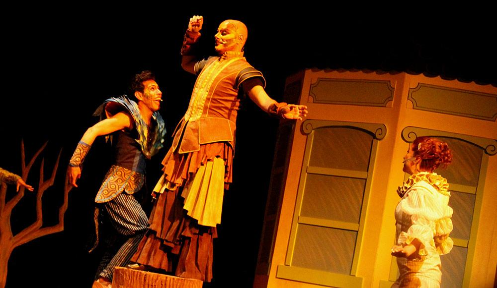 El Ruiseñor y La Rosa, el musical