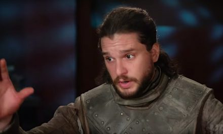 El accidente testicular de Kit Harington sobre el dragón