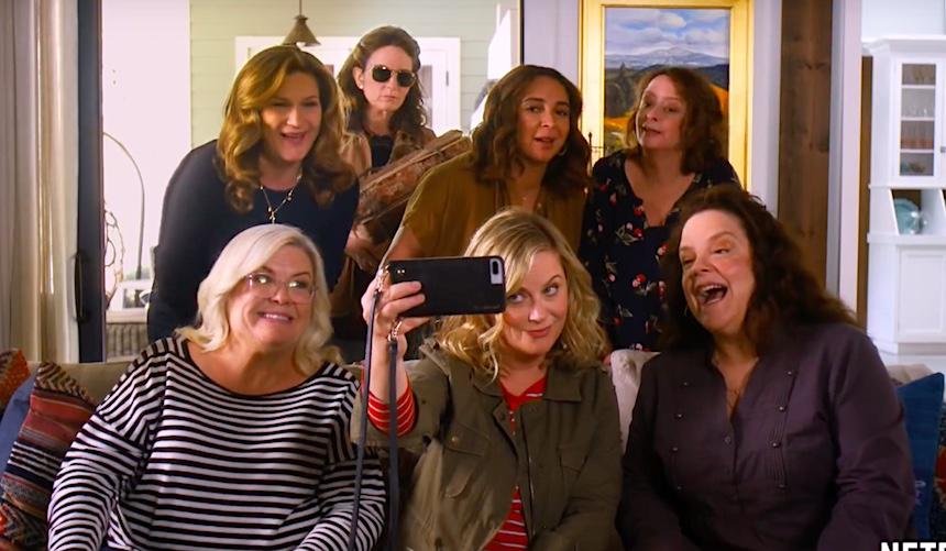 Amy, Tina, Maya juntas de nuevo para Wine Country