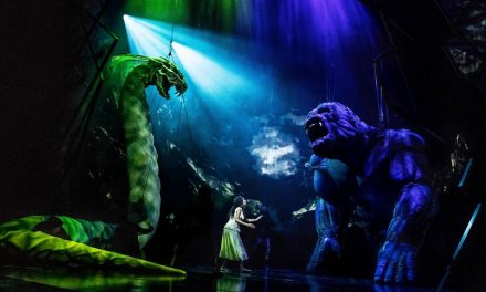 Así hacen funcionar al King Kong de Broadway