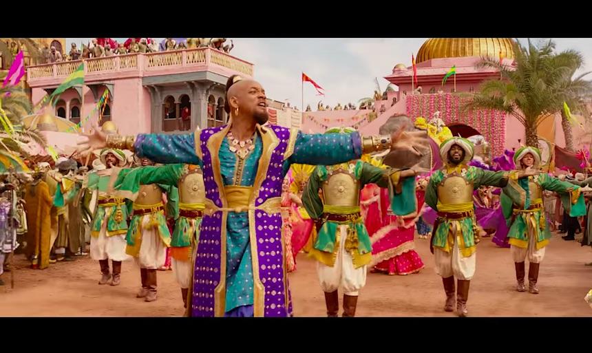 Una probadita de Will Smith cantando para Aladdin