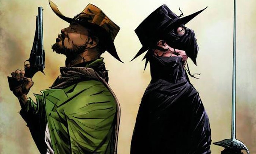 ¿Un crossover de Django con el Zorro? Yes, please
