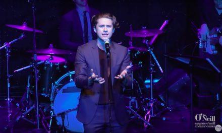 Un poco de Aaron Tveit cantando Moulin Rouge!