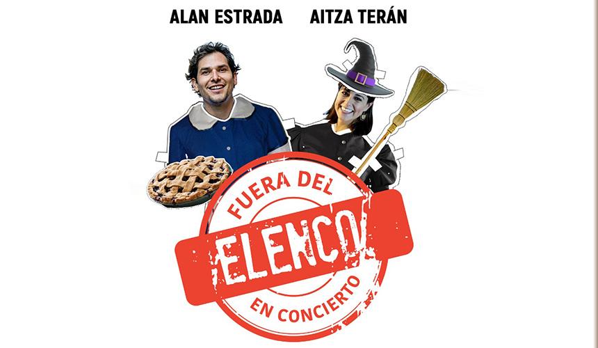 Alan y Aitza abrirán los conciertos Fuera Del Elenco