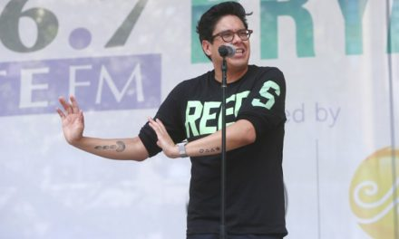 Mira a George Salazar en Broadway in Bryant Park
