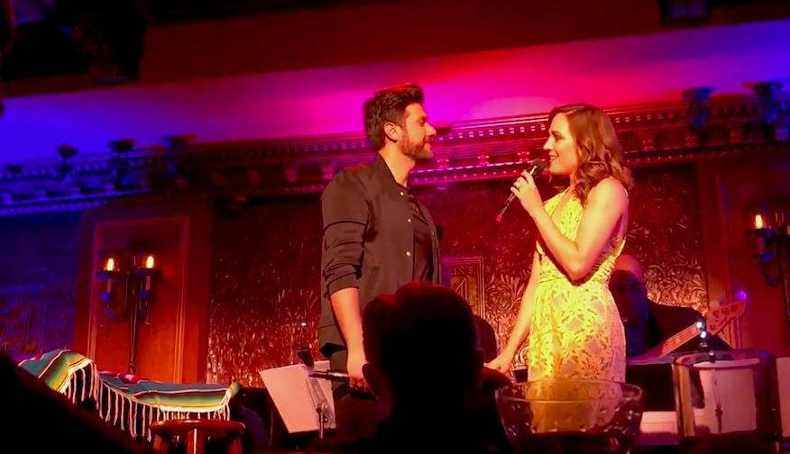 Mauricio Martínez y Laura Osnes a dueto perfecto